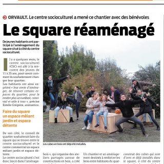 Square centre social bugalliere